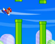 Flappy Mario and Luigi racing j�t�k