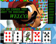 Online Mario Video Poker j�t�k