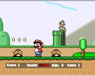 Mari� on-line j�t�k - super mario flash 2