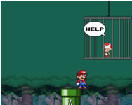 Super Mario save Toad Mario j�t�kok